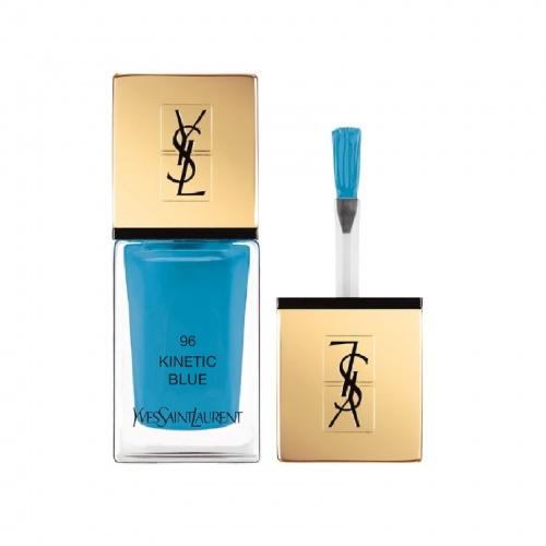 Yves Saint Laurent - La Laque Couture 96 Kinetic Blue