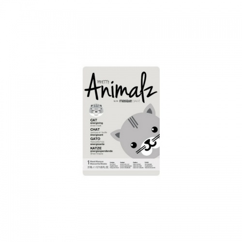 Pretty Animalz - Masque en feuille chat