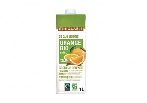 Ethiquable - Pur jus d'orange Bio & équitable