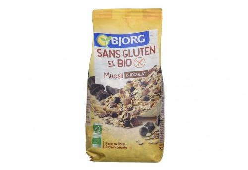 Bjorg - Muesli chocolat Bio sans Gluten