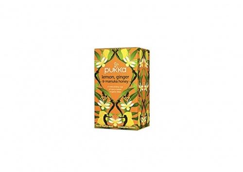 Pukka - Tisane Bio citron gingembre miel de Manuka