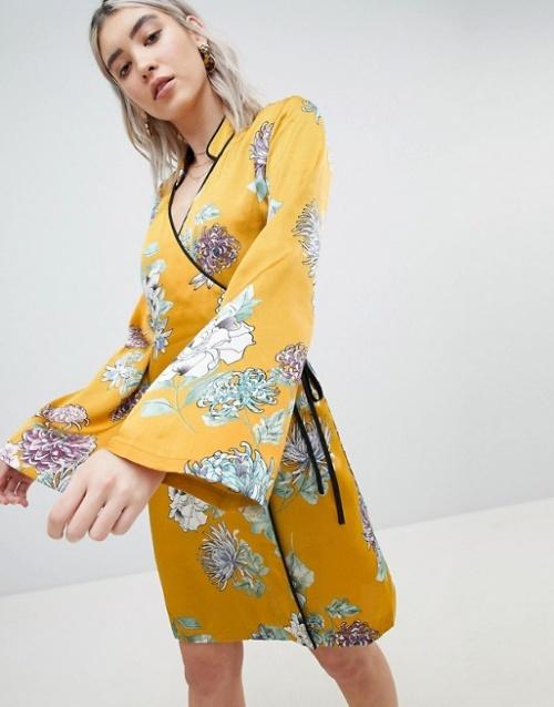 Boohoo - Robe kimono
