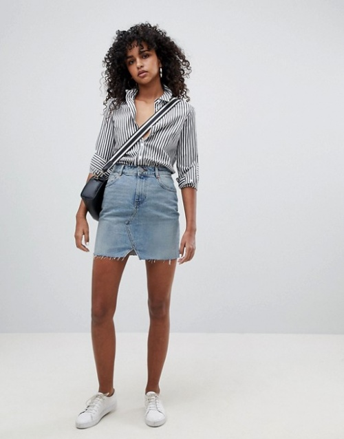 ASOS DESIGN - Mini-jupe