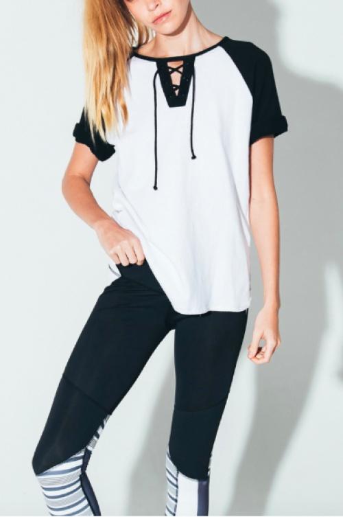 Arcadia - T-shirt à lacets