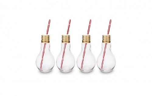 CKB  - Verres en forme d'ampoule  à cocktail