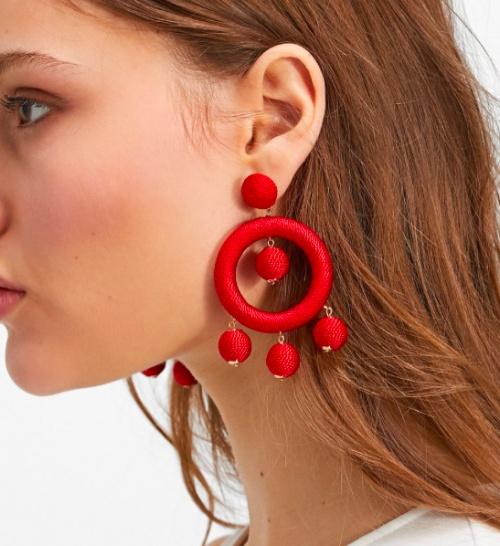 Stradivarius - Boucles d'oreilles