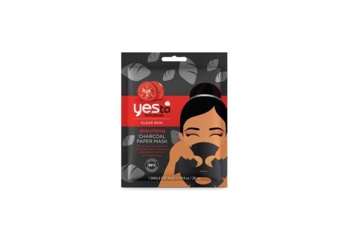 Yes To Tomatoes - Masque En Tissu Détoxifiant Au Charbon