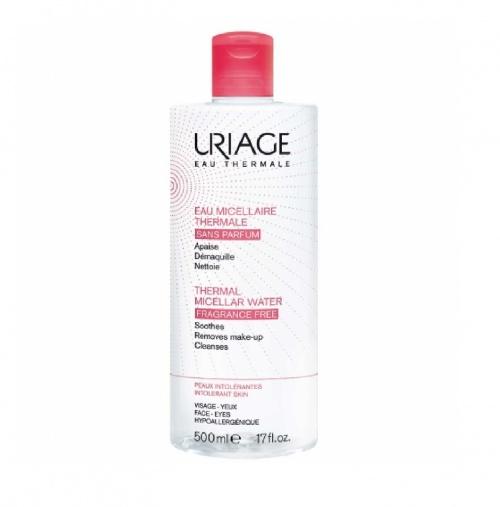 Uriage - Eau Micellaire Thermale Sans Parfum Peaux Intolérantes