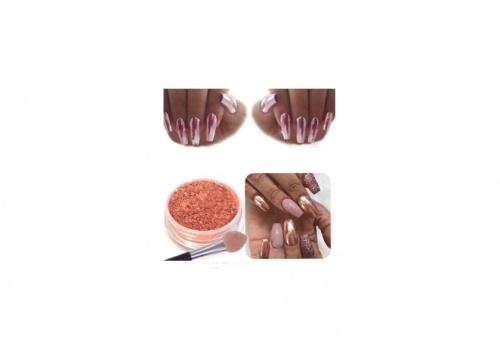 Bluestercool - Nail Miroir Powder Glitter Chrome