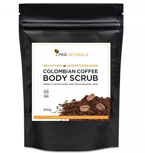 Exfoliant anti-cellulite au café - Pranaturals