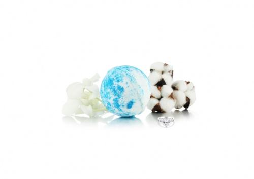 Fragrant Jewels - White Cotton - Jewel Bath Bomb