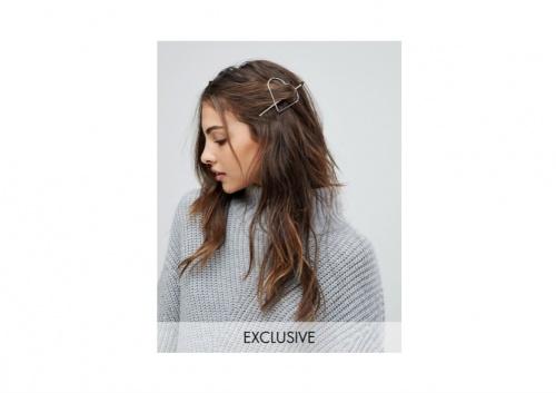 Reclaimed Vintage Inspired - Épingle à Cheveux à Détail Cœur
