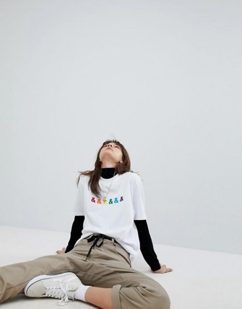 ASOS DESIGN x glaad - T-shirt