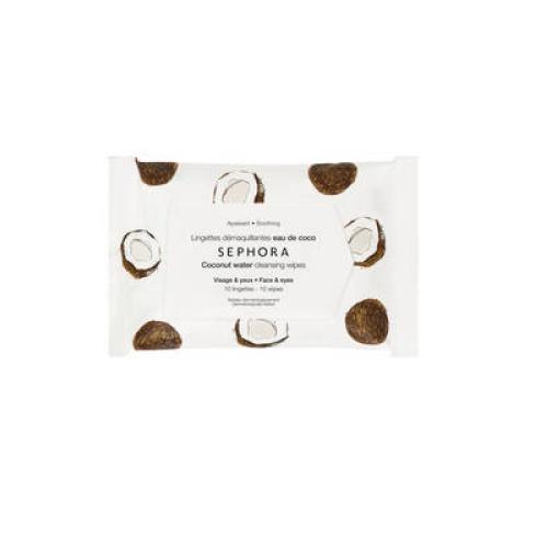 Sephora Collection - Lingettes démaquillantes et exfoliantes Format voyage 10 lingettes