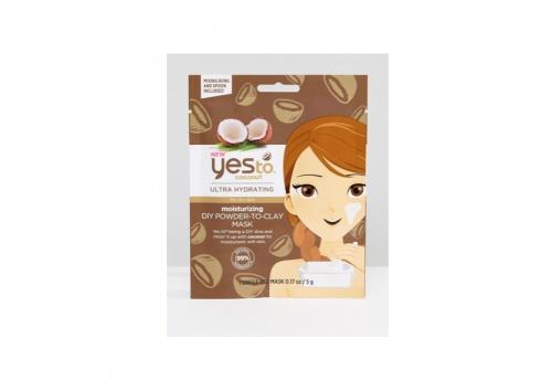 Yes To - Masque Poudre Argile Noix de Coco
