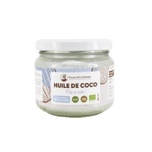 Huile de Noix Coco vierge certifiée BIO & non raffinée - Force Ultra Nature