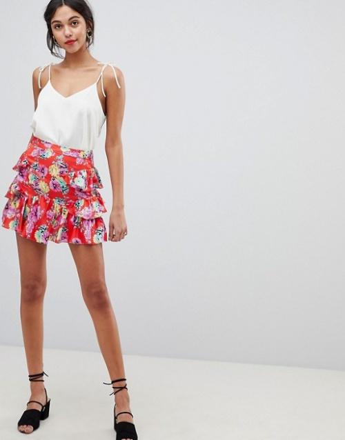 ASOS DESIGN - Mini-jupe