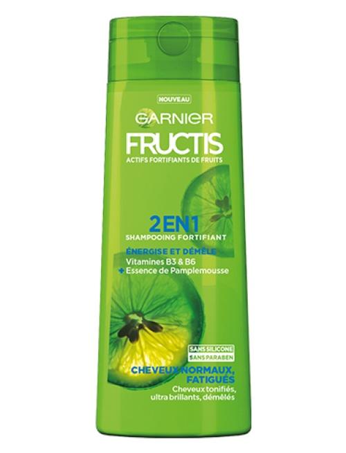 Garnier - Fructis Force & Brillance Shampoing 2 en 1