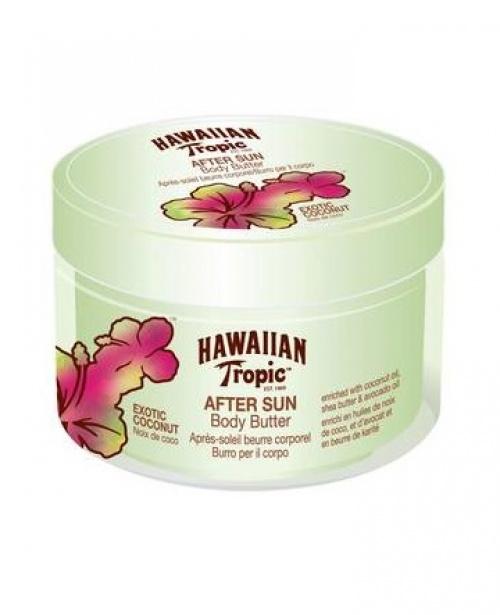 Hawaiian Tropic - Beurre corporel après-soleil