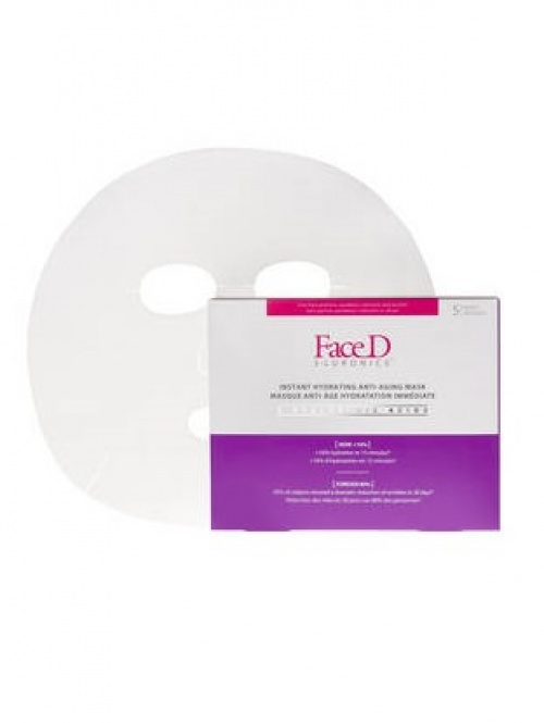 FaceD - Masque Hydratation Immédiate Acide Hyaluronique