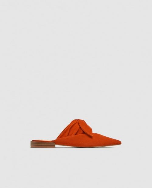 Zara - Mules à noeud