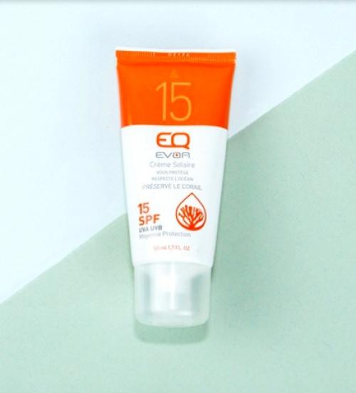 EQ Evoa - Crème solaire minérale SPF 15