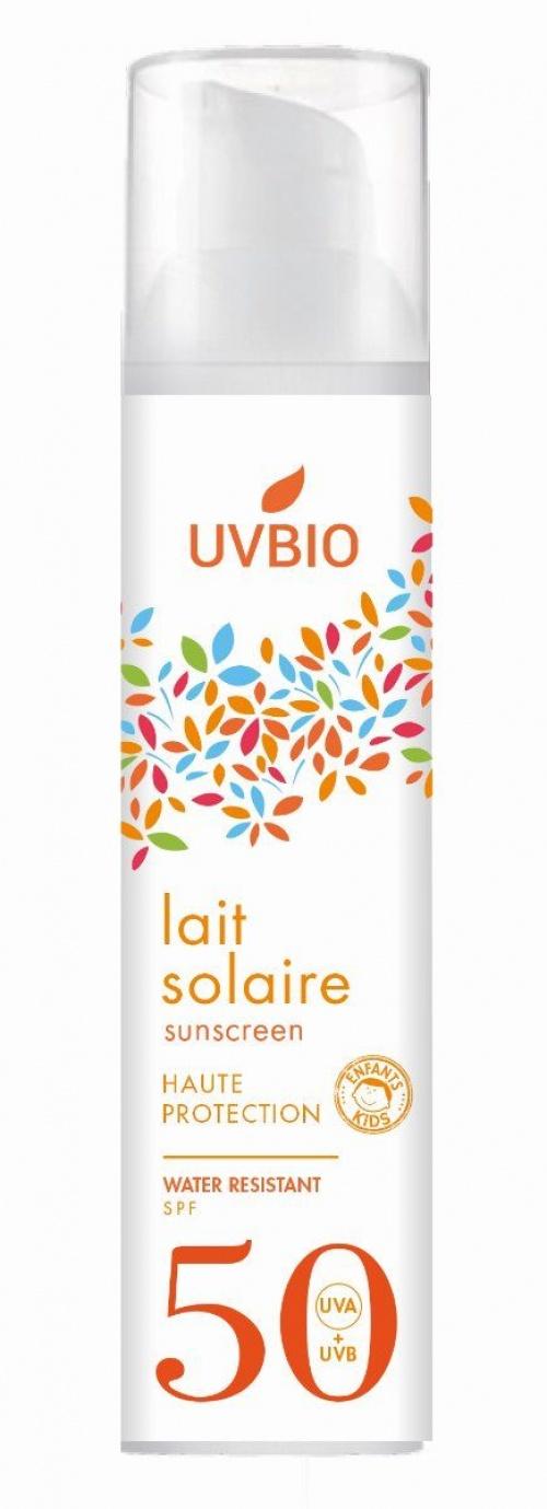 UVBIO - Lait solaire Bio SPF 50
