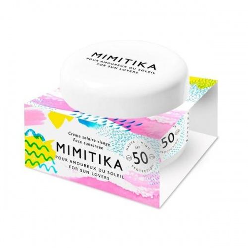 Mimitika - Crème solaire visage SPF 50