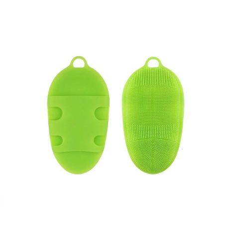 Cool Essential - Brosse de massage en silicone pour le bain