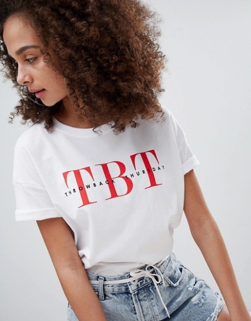Bershka - tbt - T-shirt