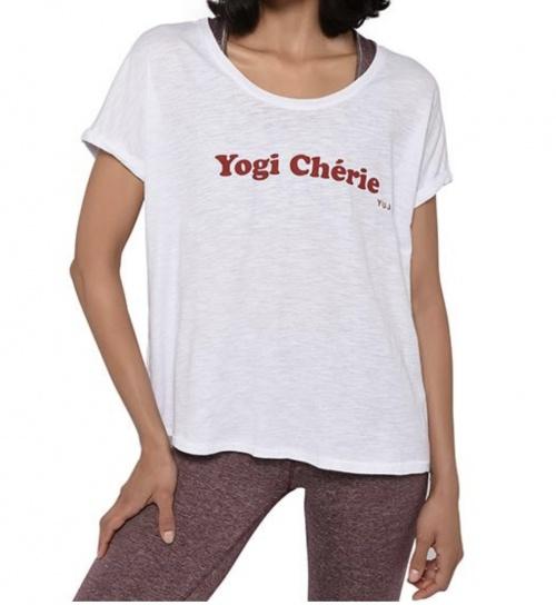 Tee-shirt de yoga en coton bio - YUJ