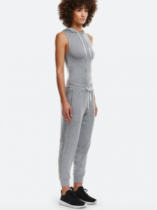 Alala - Combinaison grise à capuche