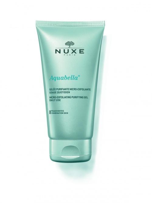Nuxe -Gelée Purifiante Micro-exfoliante usage quotidien Aquabella®