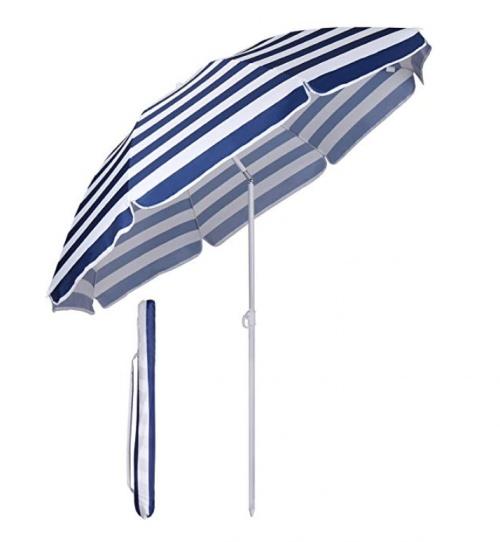 Parasol vintage à rayures - Sekey
