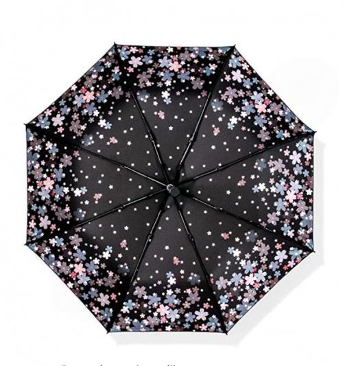 Parapluie imprimé petites fleurs - Ofgcfbvxd