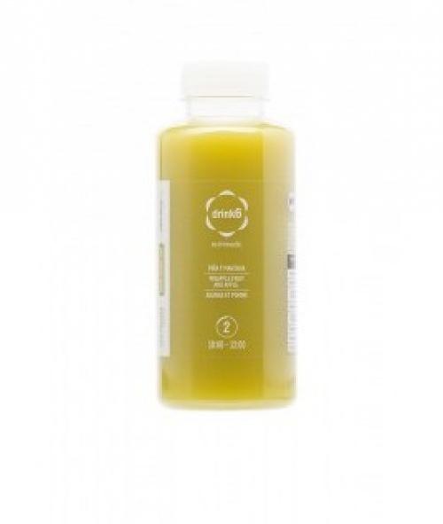 Drink6 - Jus Détox (Ananas, pomme, menthe)