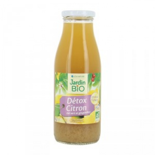 Jardin Bio - Boisson Détox (Thé vert, citron, basilic)