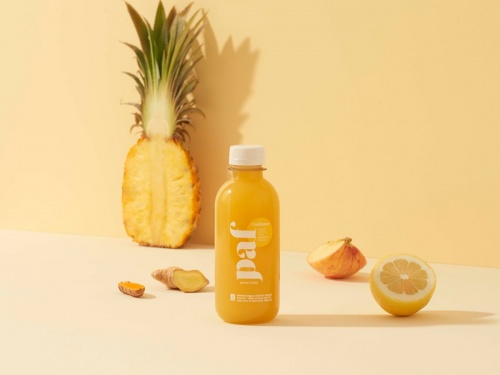 PAF - Jus Détox (Ananas, Pomme, Citron, Gingembre, Curcuma)