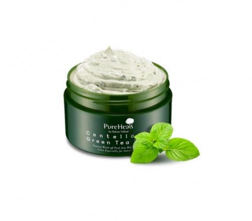 Pure Heals - Masque Centella 65 au Thé Vert