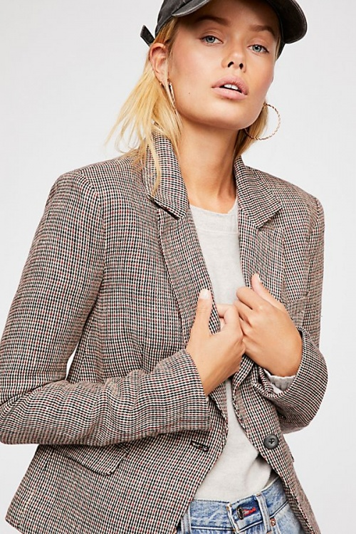 Free People - Chess Blazer