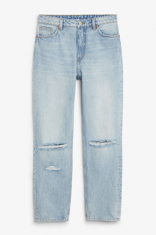 Monki - Moluna Distressed Jeans