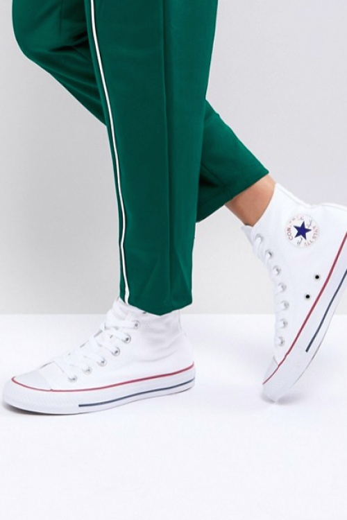 Converse - All Star - Baskets Montantes - Blanc