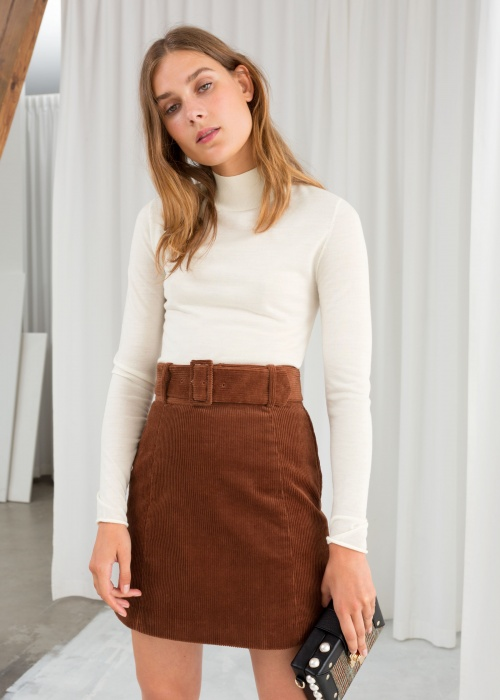 & Other Stories - Fitted Merino Wool Turtleneck