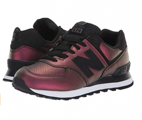 New Balance - Baskets bordeaux cuivré