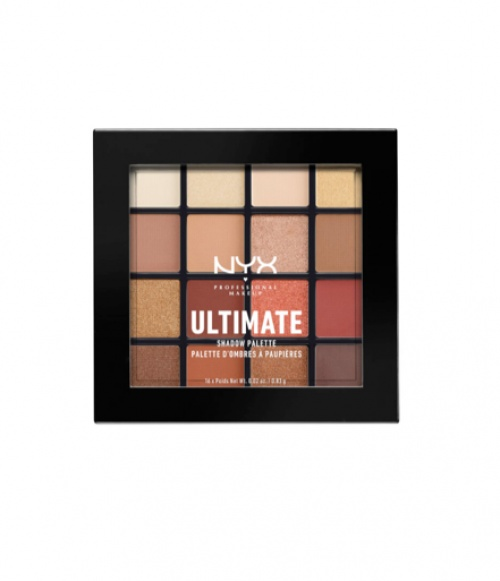 NYX - Professional Makeup Ultimate Shadow Palette - Warm Neutrals