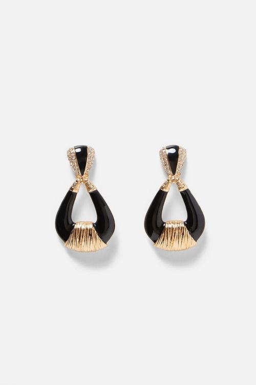 Zara - Boucles d'Oreilles Longues Larmes