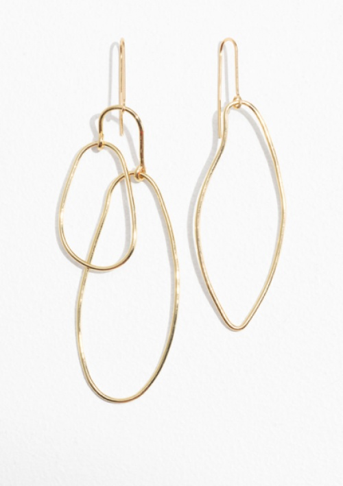 & Other Stories - Asymmetrical Earrings