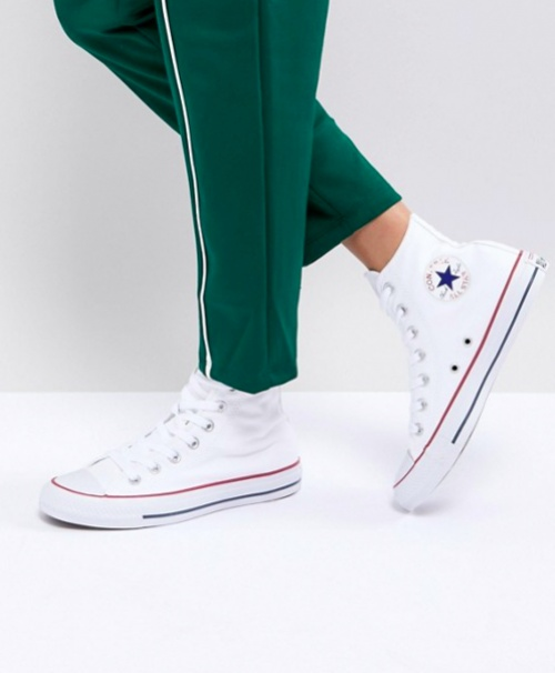 Converse - All Star - Baskets Montantes - Blanc