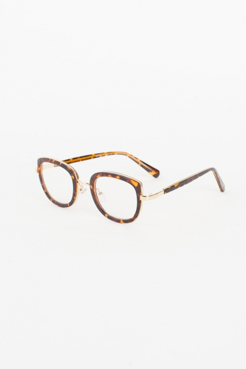 Olive Clothing - Leopard Frame Glass, Leopard