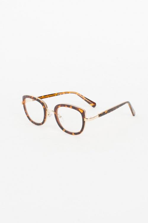 Olive Clothing - Leopard Frame Glass, Leopard